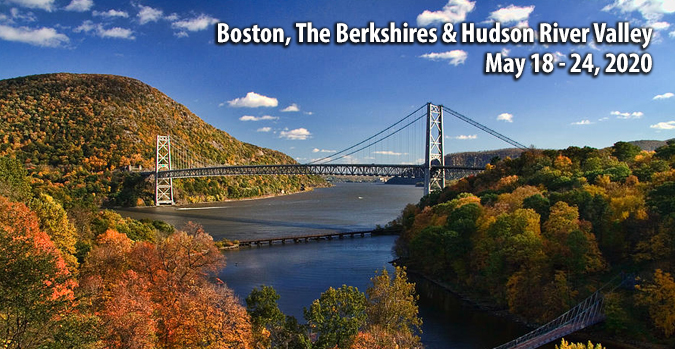 Boston, The Berkshires and Hudson River valley