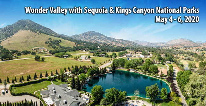 Wonder Valley with Sequoia & Kings Canyon National Parks